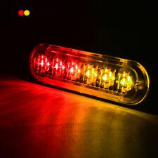 4 6 12 20 LED Strobe Flash Warn Beacon Light Amber White Blue Red Green 12V-36V