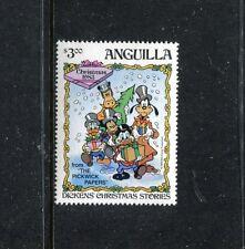 Anguilla 555 MNH Disney character short set. 1983. x17569