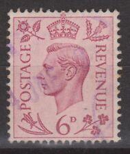 Great Britain nr 206 used GEORGE VI 1937 VEILING oude postzegels ENGELAND