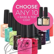 CND SHELLAC UV Color Coat 7.3ml - Any 10 Colours + Base + Top