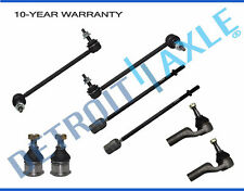 Front Sway Bars Inner Outer Tierods Ball Joints 1995-2002 Lincoln Continental
