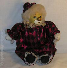 """Gorgeous Porcelain Head Clown Boy Doll 8.5"""" Tall"""