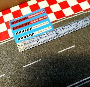 Matchbox Lesney superfast Custom Bus stickers (DUNLOP MASTER TYRES)