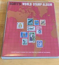 Scott's World Stamp Album