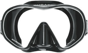 Mask - Scubapro Solo - Single Lens - Black/Black