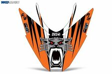 Hood Graphic Arctic Cat Pro Climb Pro Cross Snowmobile Sled Nose Wrap 2012-13 O