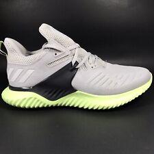 Adidas Alphabounce Beyond Shoe BD7096 Continental Grey Green Men Size 9 NEW