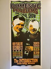 Domestic Problems - Signed By Mark Arminski Poster
