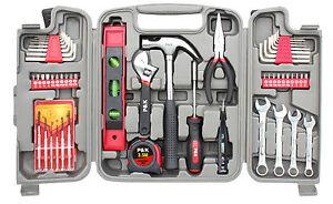 53 Teiliges Werkzeugset Werkzeugkasten Werkzeugkoffer Werkzeugkiste