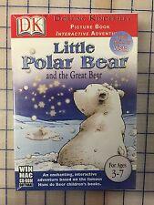 LITTLE POLAR BEAR AND THE GREAT BEAR HYBRID CD-ROM * BRAND NEW RETAIL SEALED BOX