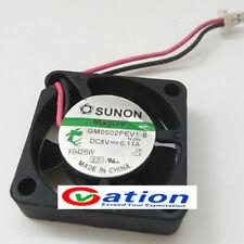 Sunon 25mm x 7mm MagLev Fan 5V DC 2 Pin Connector Vapo Bearing GM0502PEV1-8