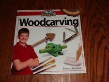 Woodcarving Kid Crafts Book Wood Carving Whittling