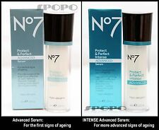 Boots No 7 Protect & Perfect Advanced Serum / INTENSE Advanced Serum 30ml/50ml