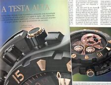 SP97 Clipping-Ritaglio 2007 Zenith Defy Xtreme Gold Tourbillon