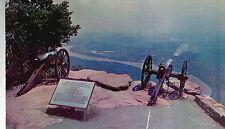 Captain Carrity's Alabama Battery  Lookout  Mt  TN Unused Chrome Postcard  8154