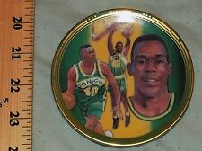 "Shawn Kemp 1992 NBA Seattle Supersonic Collectors 4"" Plate Reign Man Reignman"