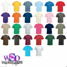 T-shirts basiques Fruit of the Loom taille S pour homme