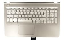 New HP Pavilion 15-AB Palmrest Touchpad Cover UK QWERTY Keyboard 820002-031