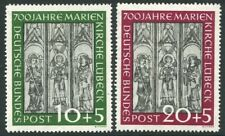 GERMANY-1951 Charity Set Sg 1065-66 MOUNTED MINT V20040