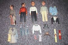 VINTAGE COLLECTIBLE CHARLIE MCCARTHY PAPER DOLLS AND ATTIRE USED GOOD SHAPE