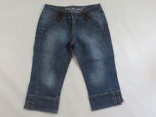 Stretchjeans EDC by ESPRIT 3/4 Stiefel Capri Jeans  38 denim blue used /J15