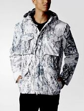 Adidas Mens snow camo field jacket size XL AA9026
