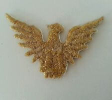 Embroired Spread Wing Eagle Iron On Patch, Lot of 20.