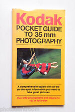 Kodak Pocket Guide 35mm Photography 1230861 AR-22 1986 Book - English - USED 14