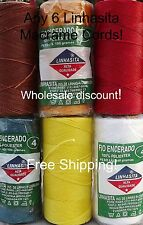 ANY 6 Linhasita  WAXED POLYESTER 1MM CORD (170m/186yd) - Hilo- Wholesale Disc