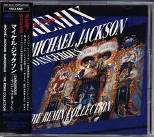 MICHAEL JACKSON Dangerous The Remix Collection JAPAN 1993 CD W/Obi MEGA RARE!
