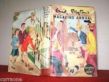 Enid Blyton MAGAZINE ANNUAL #3 Hardcover with DJ  1st ed 1956 Eileen Soper etc
