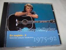 JOHNNY HALLYDAY-33 EN ANGLAIS 2 1975-92 MINT FRANCE CD