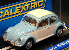 SCALEXTRIC C3204 VOLKSWAGEN BEETLE  WITH WORKING HEADLIGHTS  1/32 DPR READY