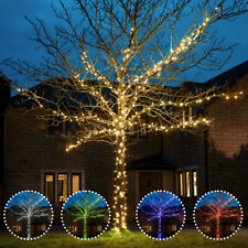 ConnectGo Connectable Christmas Outdoor LED Fairy String Wire Lights Garden Home