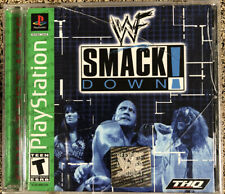 WWF SmackDown (Sony PlayStation 1, 2000) PS1 Video Game