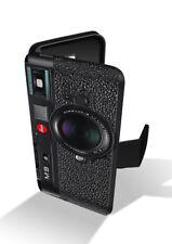Efecto Cámara Leica M9 Vintage Retro Cartera de Cuero Funda De Teléfono