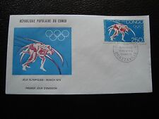 CONGO (brazzaville) - enveloppe 1er jour 15/3/1973 (B1)