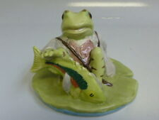 Beatrix Potter Jeremy Fisher Catches a Fish Figurine By Beswick BP-10a