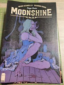 Moonshine #12 FN/VF 2018 Image Comic Brian Azzarello Cover B
