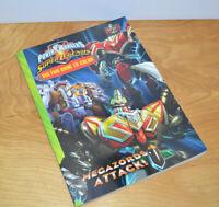 POWER RANGERS Super Legends MEGAZORDS ATTACK Coloring Book 2008 MMPR