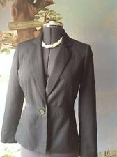 Kasper Separates  Black Striped Long Sleeve Blazer Suit Jacket SZ 6
