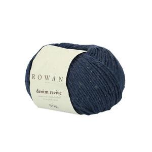 Rowan Denim Revive -VARIOUS SHADES- 50G BALLS