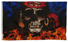 3x5 3'x5' The Flag Joint Pieces of Eight Skull Pirate Flag Banner 100% Polyester