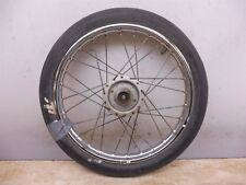 1984 Suzuki FA50 FA 50 Moped S682-1> front wheel rim hub drum 14in