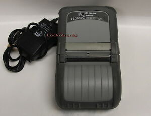 Zebra QL320 Series Mobile Thermal bluetooth Printer Q3B-LUBAV000-00 Battery P/S