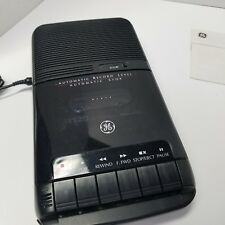 GE Portable Cassette Recorder Model 3-5025 W/AC Adapter & Guide Video Below