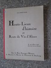 KUGLER Hauts lieux d'histoire et route du vin en Alsace 