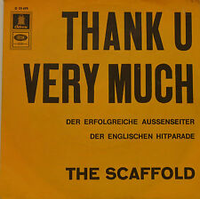 "THE SCAFOLD - THANK U VERY MUCH 7""SINGLE (G 627)"