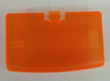 Cache pile Battery cover orange pour Game Boy Advance neuf