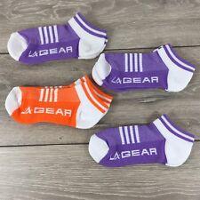 4 x La Gear Trainers Ladies Socks Sports Fitness UK 4-8 EU 37-42 A361-25